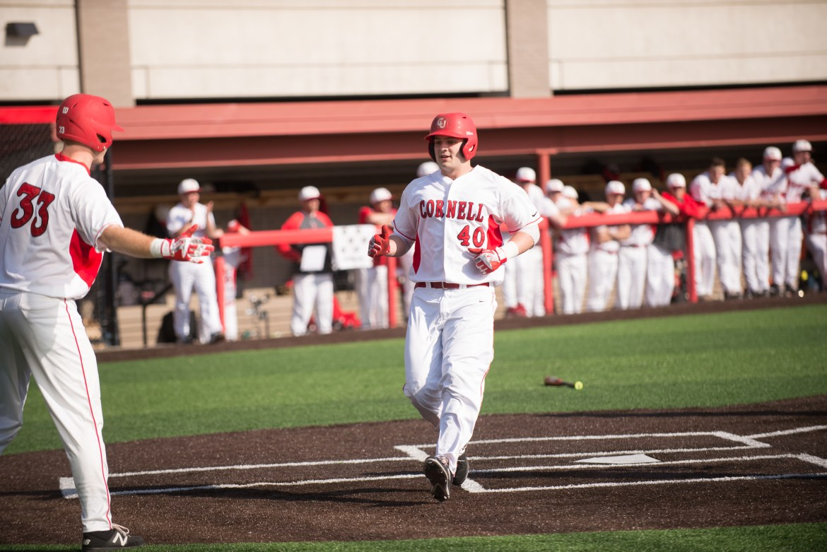 Cornell's 12 seniors ended their careers in Ithaca with a pair of victories.