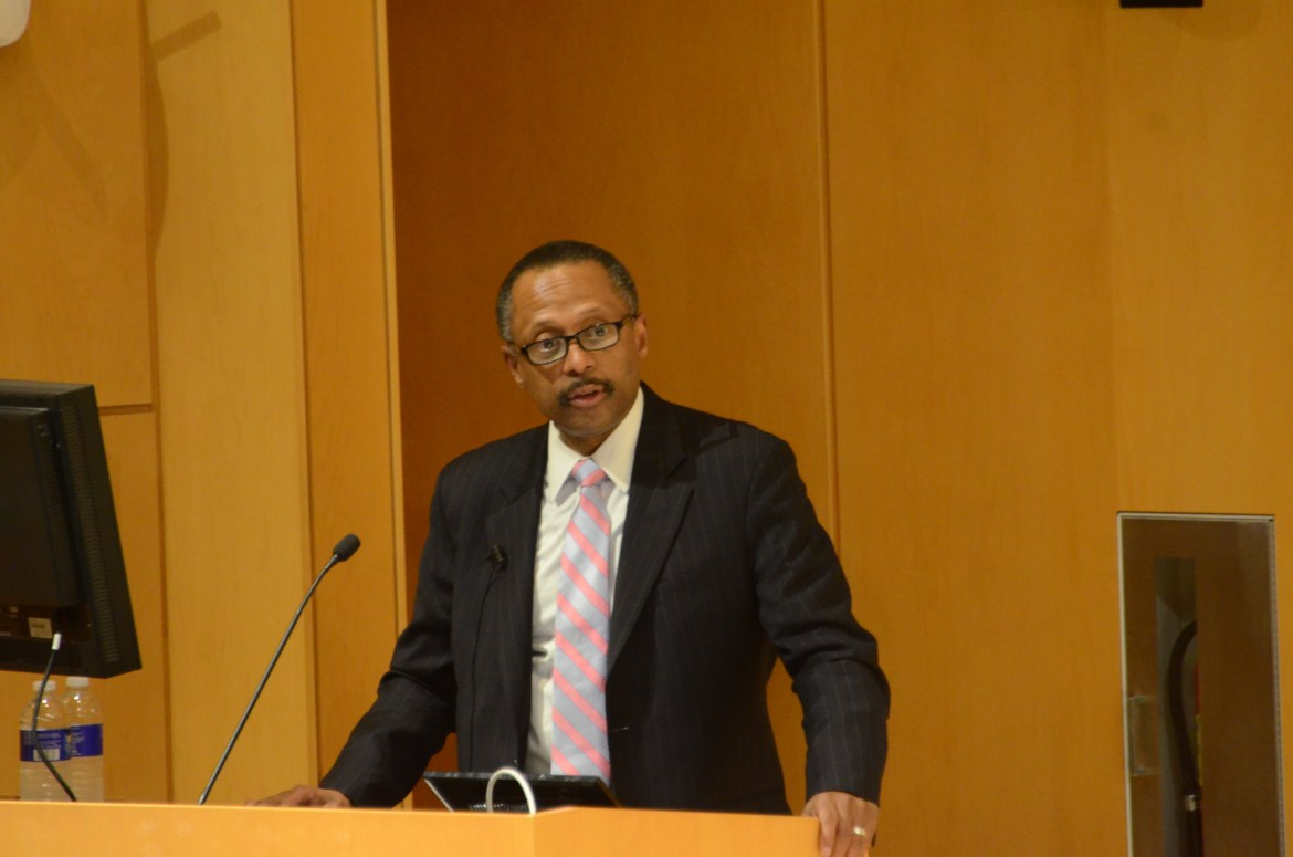 President of Andrew W. Mellon Foundation, Earl Lewis was invited to Cornell in commemoration of the Future of Humanities annual lecture series.