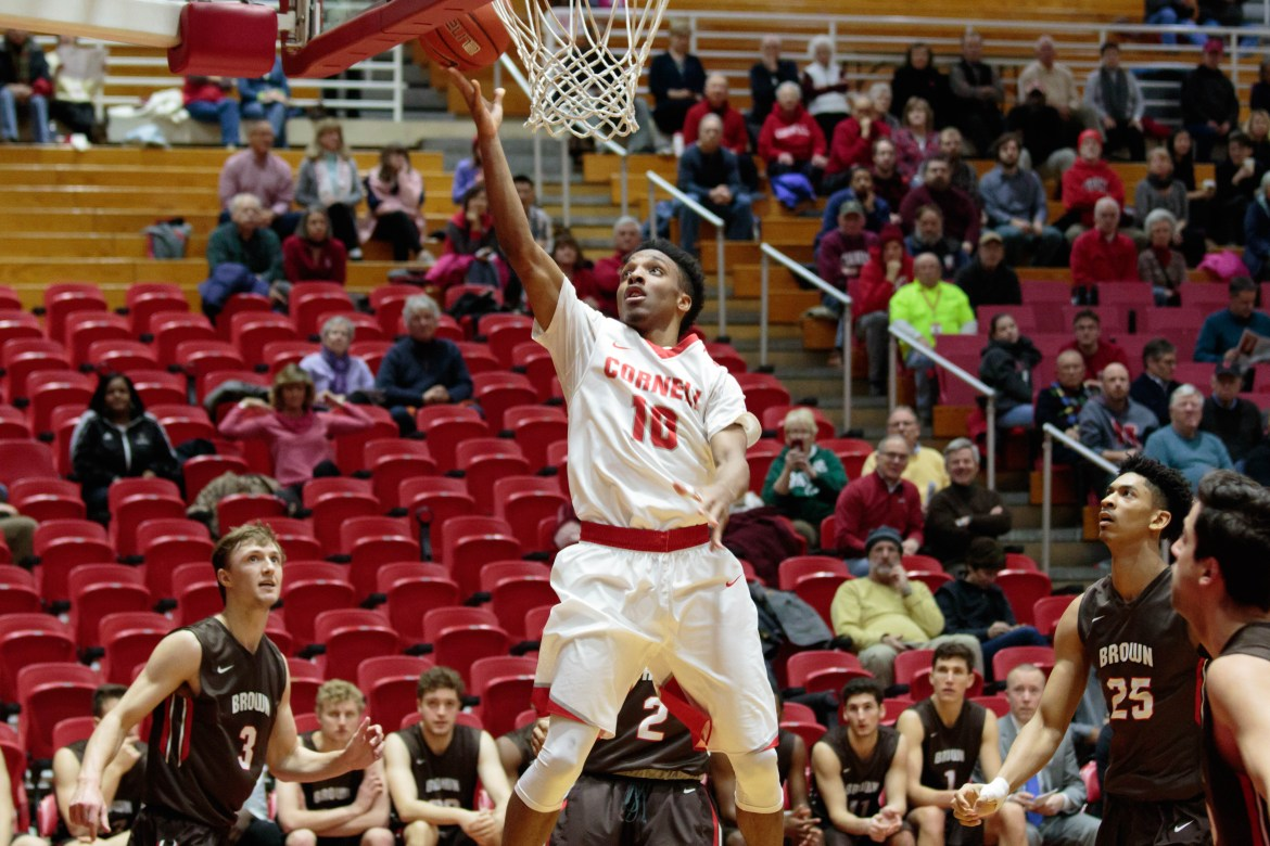 Matt Morgan has higher aspirations, but has still probably has not played his last game in a Cornell uniform.