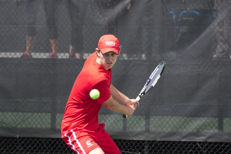 Mens Tennis vs Brown by Adrian Boteanu_39