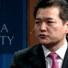 Jung Hoon Lee, South Korean Ambassador for North Korean Human Rights spoke at a lecture Friday.