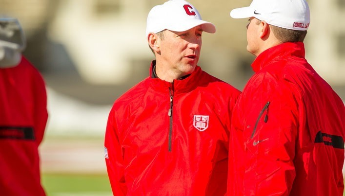 Kerwick led Cornell to a 32-26 record over his four years as head coach.