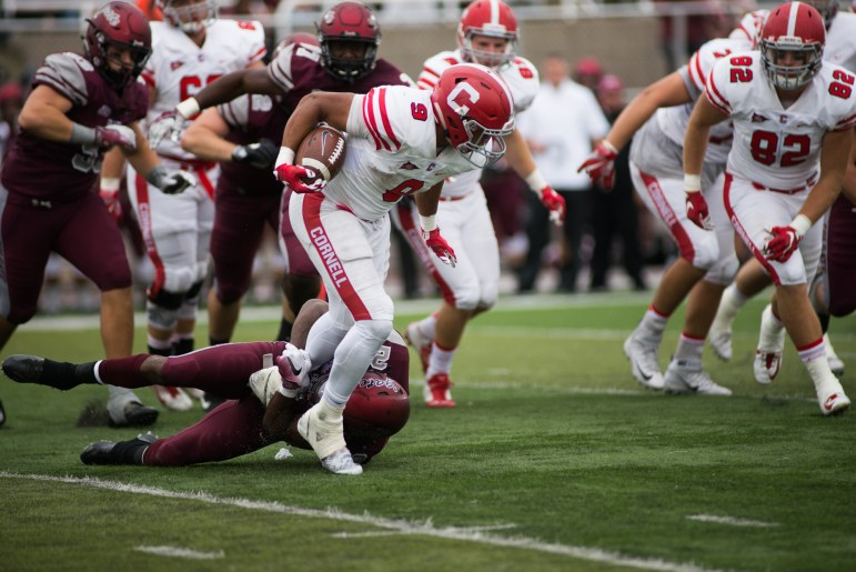On a last second touchdown, Cornell shocked Colgate on the road last year.