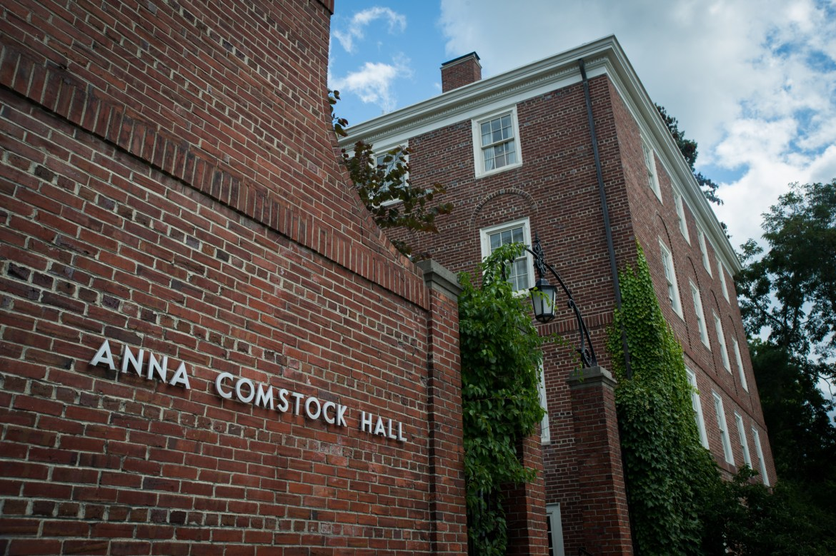 The Latino Living Center is located in Anna Comstock Hall at 520 Thurston avenue.