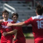 With a majority of the team starting as freshmen, Cornell shocked the collegiate soccer world Tuesday night.