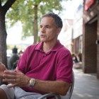 Rich John '81, pictured here in August, is the sole contender for the District Four Legislature seat after his opponent dropped out last week.