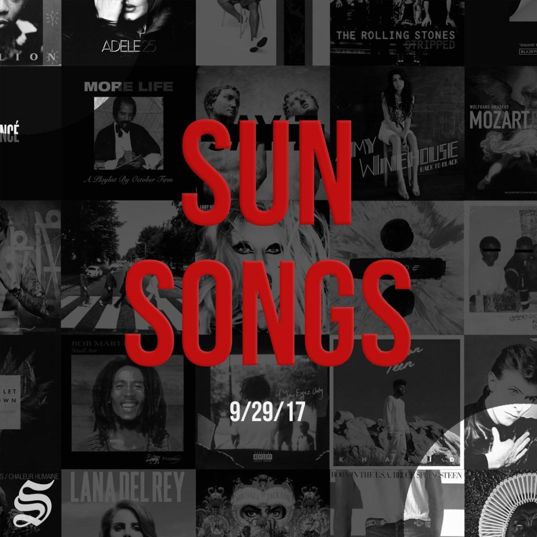 sun songs cover photo