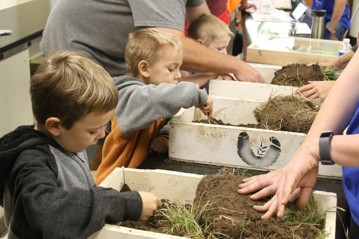 Hundreds of all ages came from near and far to attend Cornell's Insectapalooza.