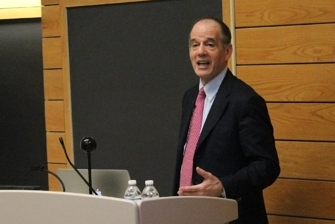 Prof. Barry Strauss '74 argues in his lecture Wednesday that studying ancient civilizations can teach us lessons surprisingly relevant today.