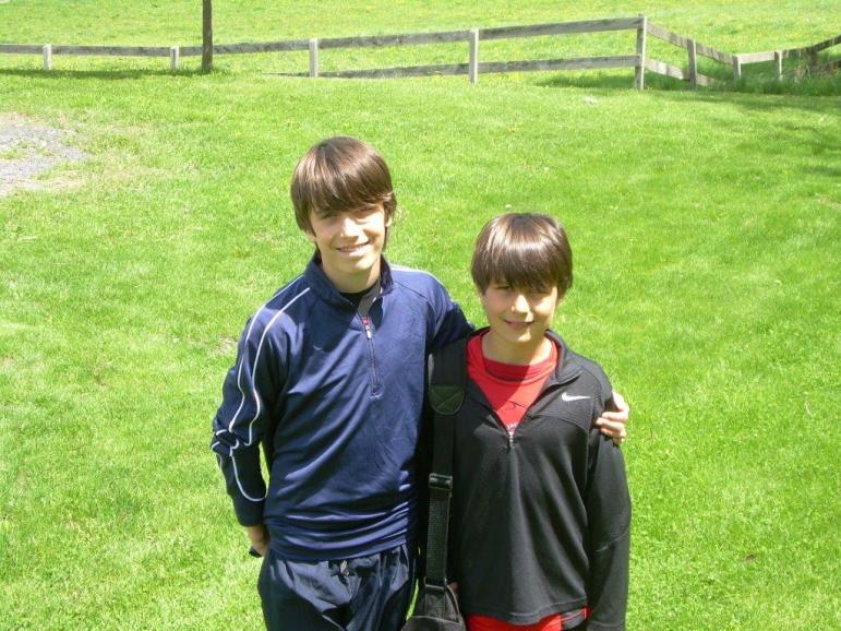 Baynes brothers in their younger years.