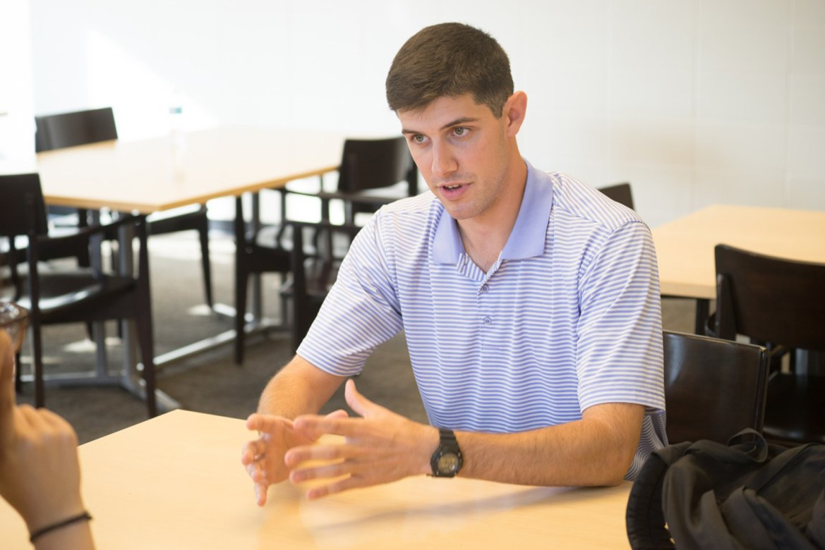 Alex Hammond '18 will split time between Cornell and his home town Waddington, N.Y. after being elected as town supervisor.