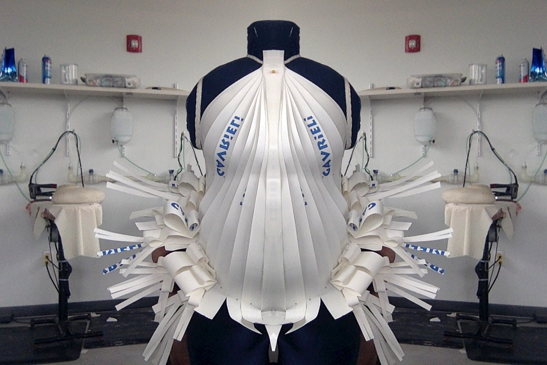 Tolula, a plus-sized dress form, will be displayed in the Museum of Modern Art.
