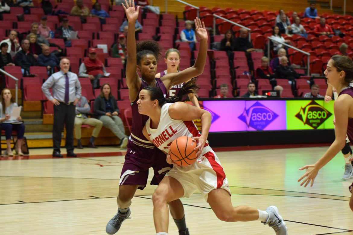 Widmann's double-double last Saturday earned her Ivy League Player of the Week honors.