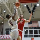 Stone Gettings totaled 32 points and ten rebounds against Harvard on Saturday, but the Big Red ultimately came up short, finishing 73-76.