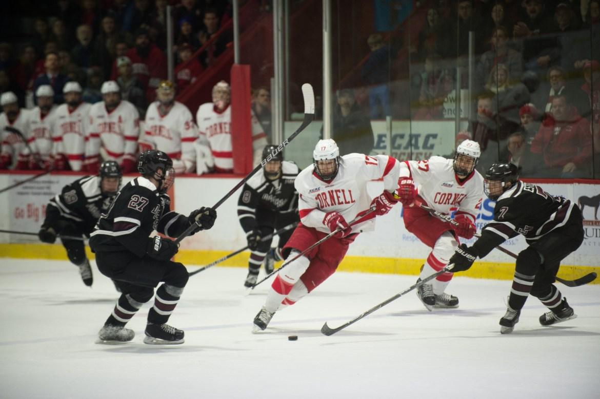 The Red hosts Brown and Yale this weekend in its final regular season home games.