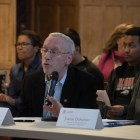Provost Michael I. Kotlikoff and Joanne DeStefano, executive vice president and chief financial officer warned against divestment from Puerto Rico.