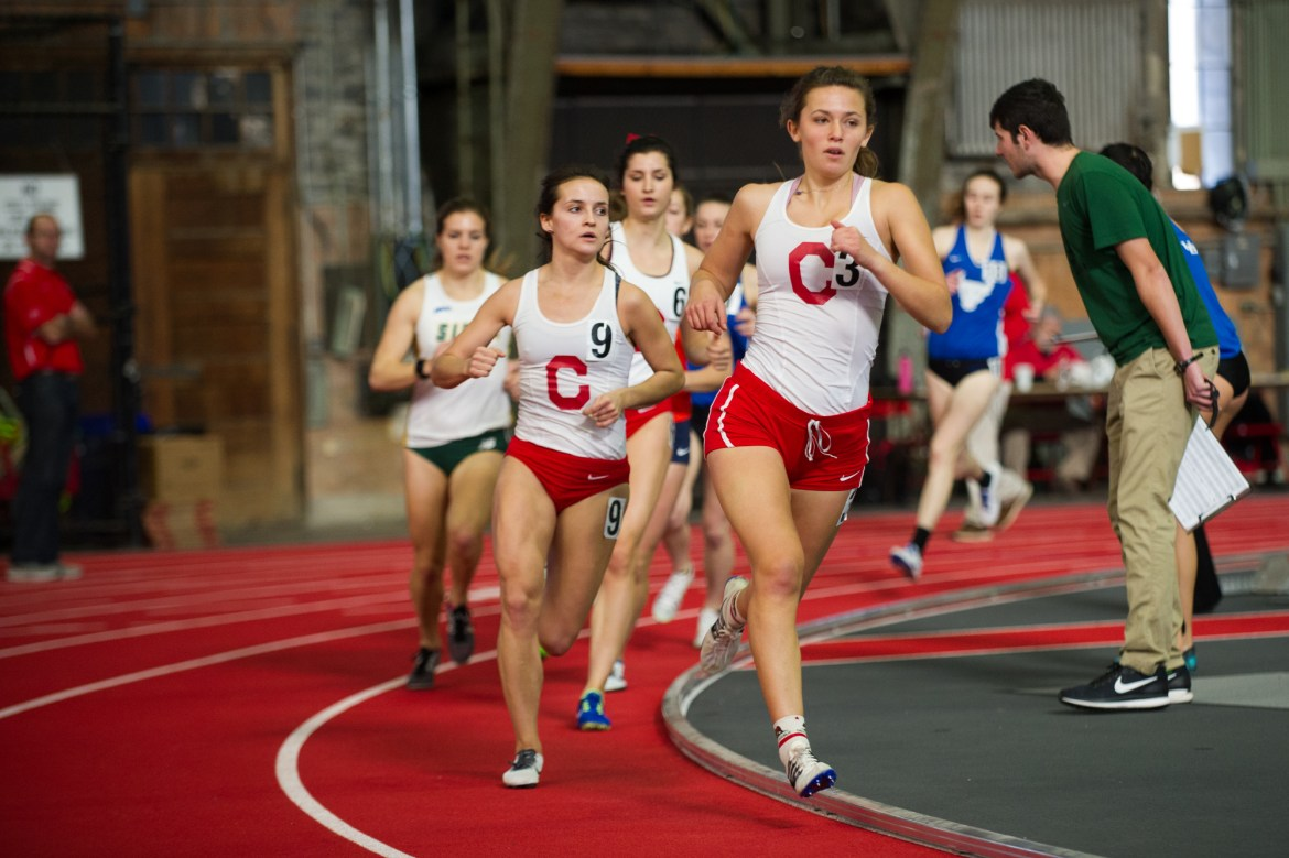 A number of personal and program records were set this weekend for both track and field squads.