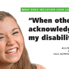 Cornell launched a disability awareness campaign involving posters and social media.