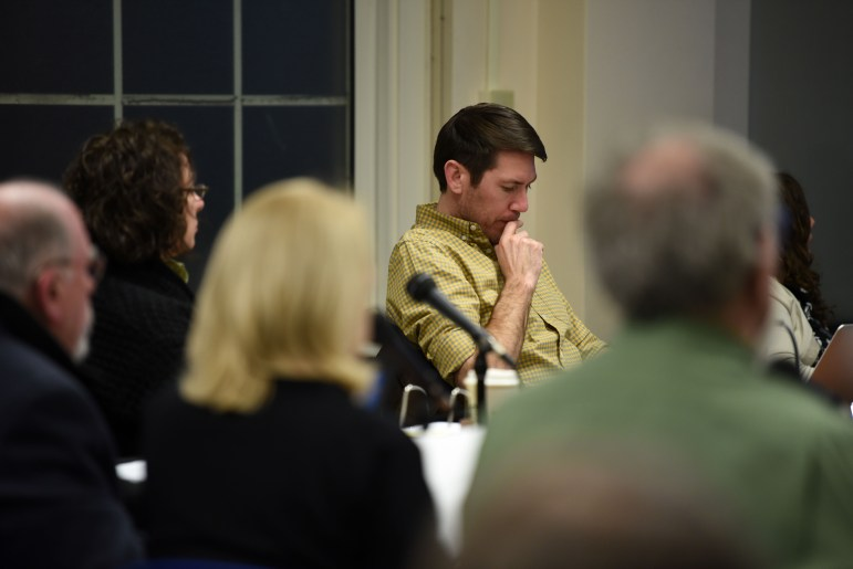 At its meeting on Tuesday, the Ithaca Planning & Development Board approved plans to construct two new housing buildings on College Avenue. (Boris Tsang/Sun Assistant Photography Editor)