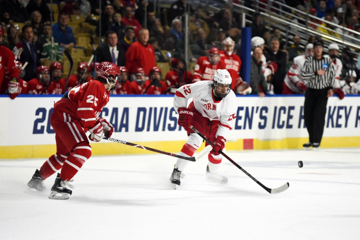 Kevin Linsey thinks Jeff Malott is a candidate to slide into a role on one of the Red's top two lines.