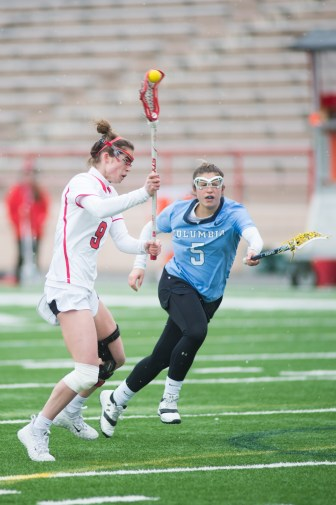 Ida Farinholt is a leader and captain of the women's lacrosse team, despite suffering two ACL tears, an injury with a less than 5 percent chance of reoccurring.