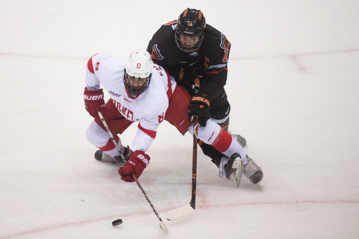 Despite its ECAC semifinal loss to Princeton, the Red locked up a No. 1 seed in the NCAA tournament.
