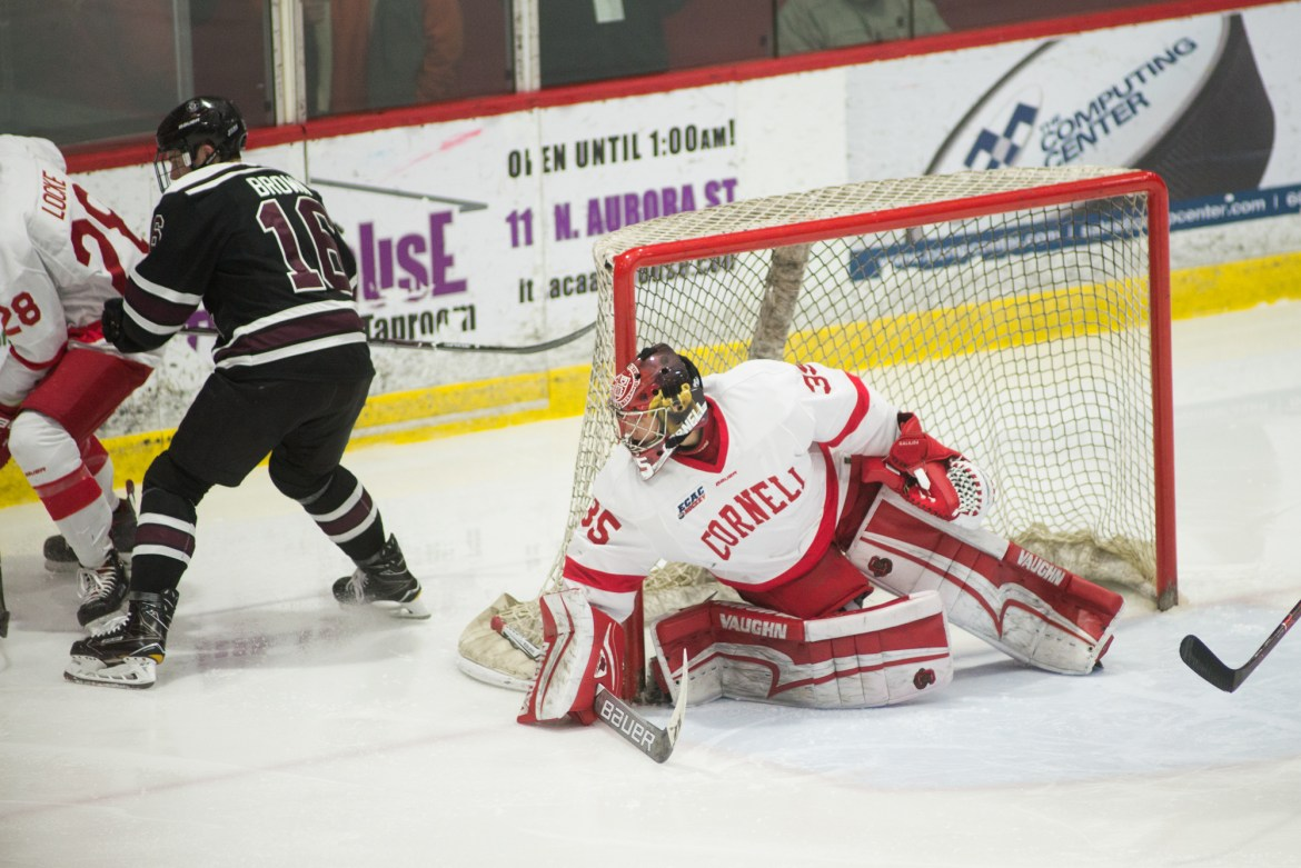 Galajda is the only freshman nominated for the Hobey Baker Award.