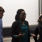 SA candidates speak at a forum Thursday night.