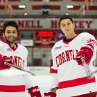Yianni Kaldis (left) and Alec McCrea (right) both lead the team in blocked shots.