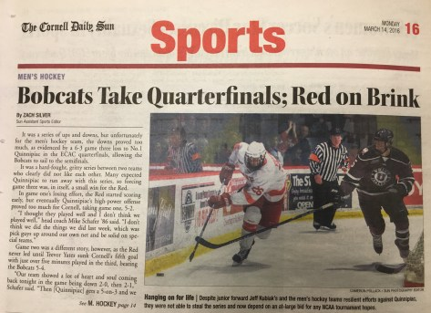 """""""It was a hard-fought, gritty series between two teams who clearly did not like each other,"""" read The Sun's recap of the 2016 quarterfinal matchup."""