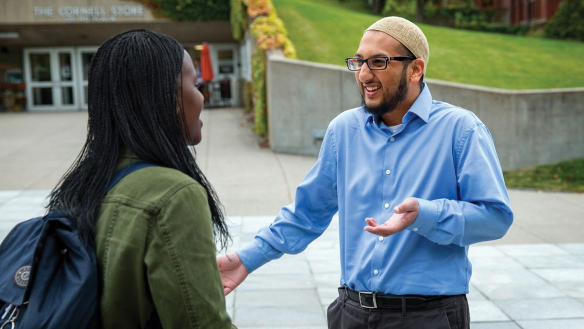 Cornell's first Muslim chaplain, Yasin Ahmed, spoke to The Sun about counseling students and pushing for Halal food options on campus.