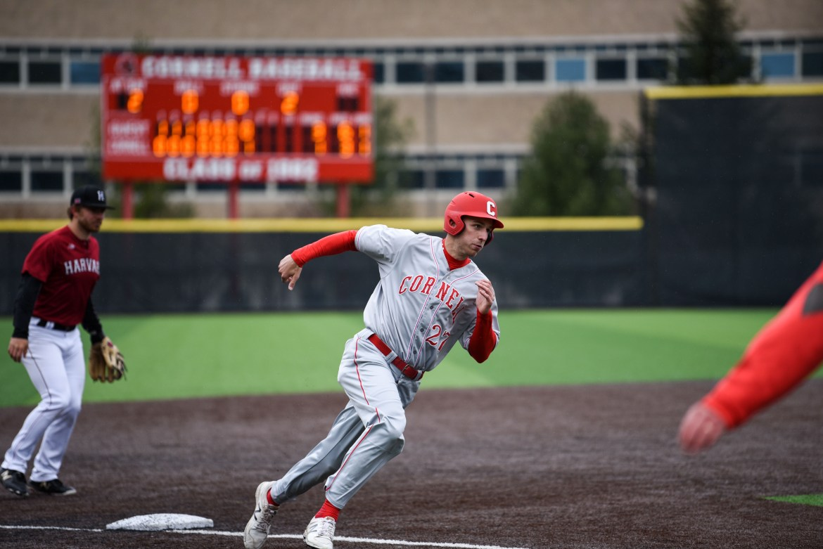 Cornell won a pair of games on Saturday to win its series over Harvard.