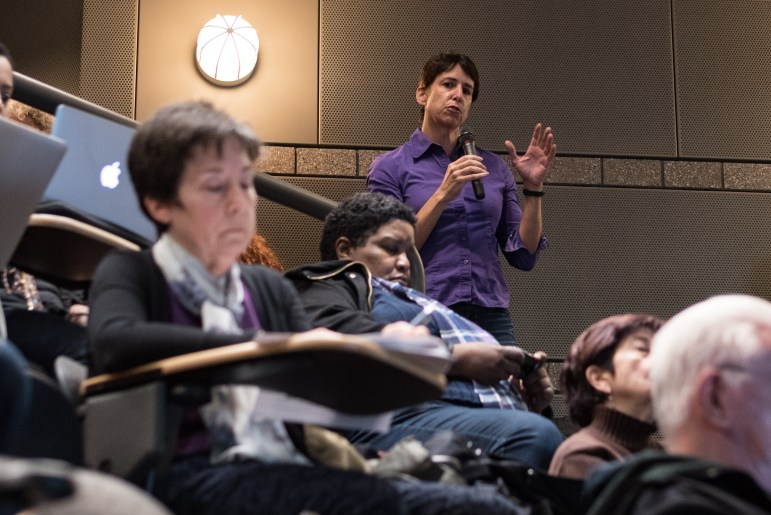 At the Faculty Senate Meeting on Wednesday, faculty expressed their concerns over the prospect of merging the College of Human Ecology and the School of Industrial Labor Relations after a survey revealed that most ILR faculty were opposed to the idea.