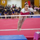 Cornell gymnastics once again finished in fourth place overall at USA Gymnastics national finals in Texas.