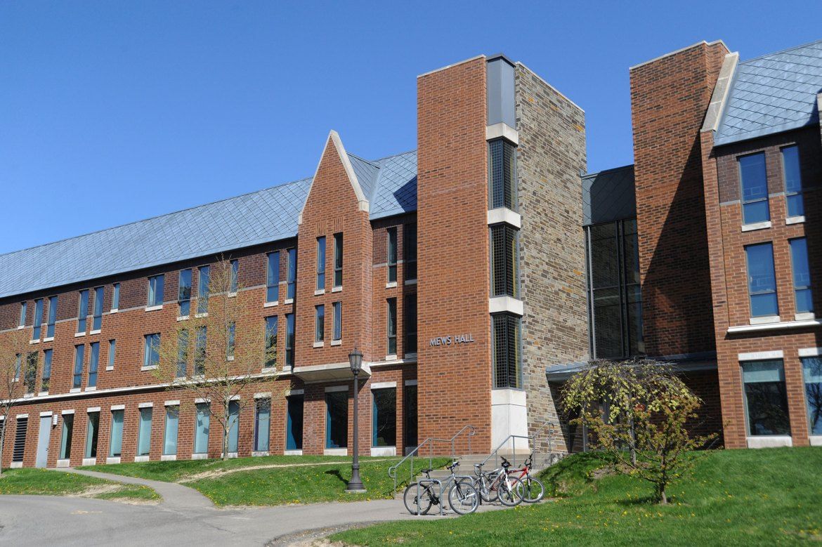 The east side of Mews Hall's first floor has the capacity to house approximately 30 students, and is the new location of the Loving House.