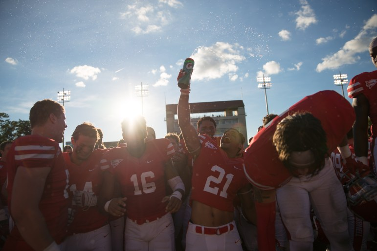 The last time these two teams met on Cornell's Homecoming, the Red came out victorious, 27-13.