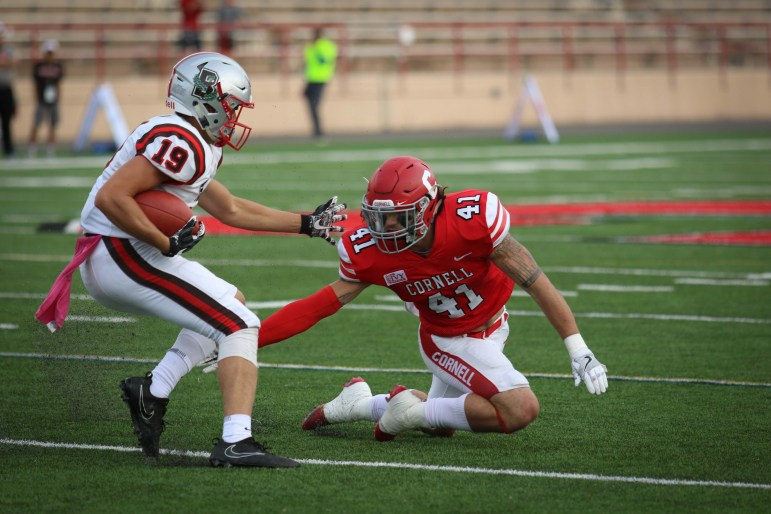 Losing Nick Gesualdi '18 (pictured) is a big hole, but head coach David Archer '05 is confident his next crop can fill it.