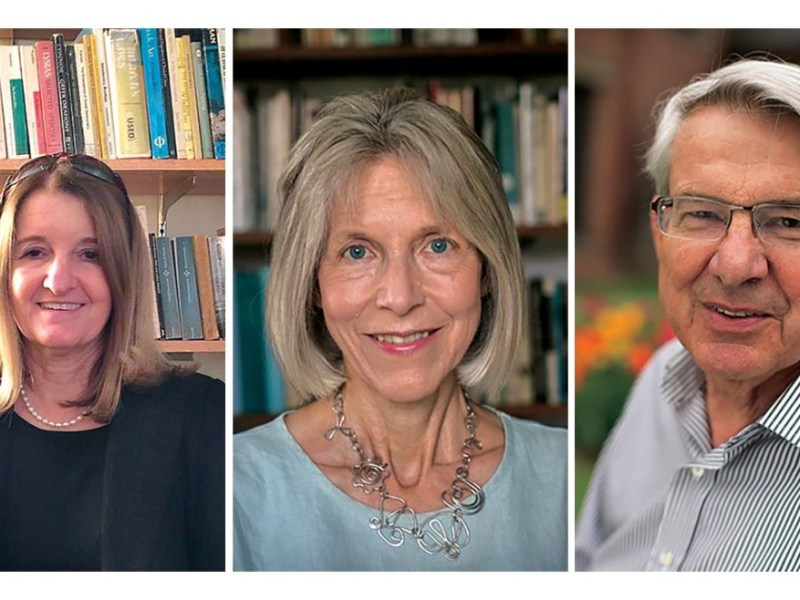 Cornell professors Cathy Caruth, Cynthia Chase and Jonathan Culler (left to right) signed a letter of support for NYU professor Avital Ronnell when she was accused of sexual harassment.
