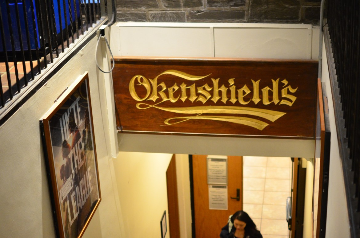 Okenshields, the only buffet-style eatery on central campus, has taken measures to reduce congestion in the dining hall.