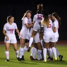 Cornell women's soccer, pictured above in a September game against Albany, hasn't had much to celebrate recently.
