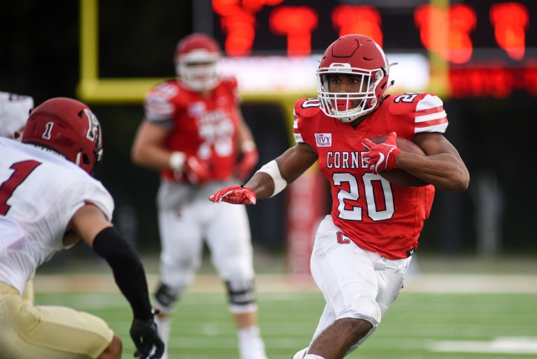 Running back Harold Coles had another long touchdown run in last week's win over Harvard.