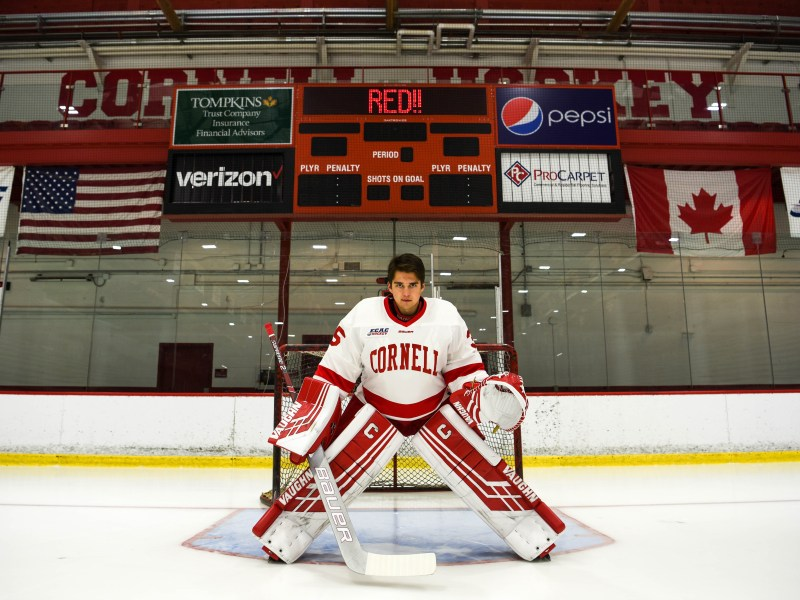 In 2017, Matt Galajda walked onto Cornell's campus as a quiet freshman. After one year, he's established himself as one of the best in the game.