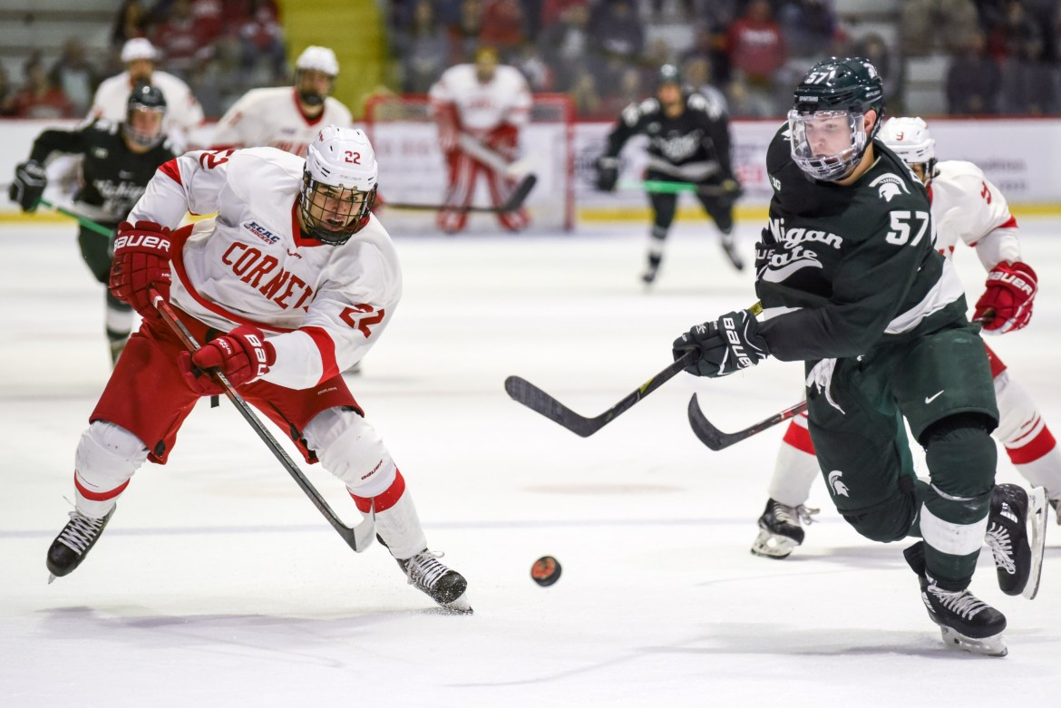 After two tough losses to Michigan State, Cornell will look to rebound this weekend against a pair of conference opponents.