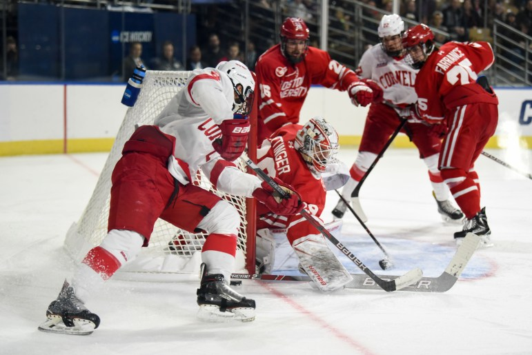 Cornell takes the ice Friday in its first meaningful game since being eliminated in the NCAA Tournament by B.U.