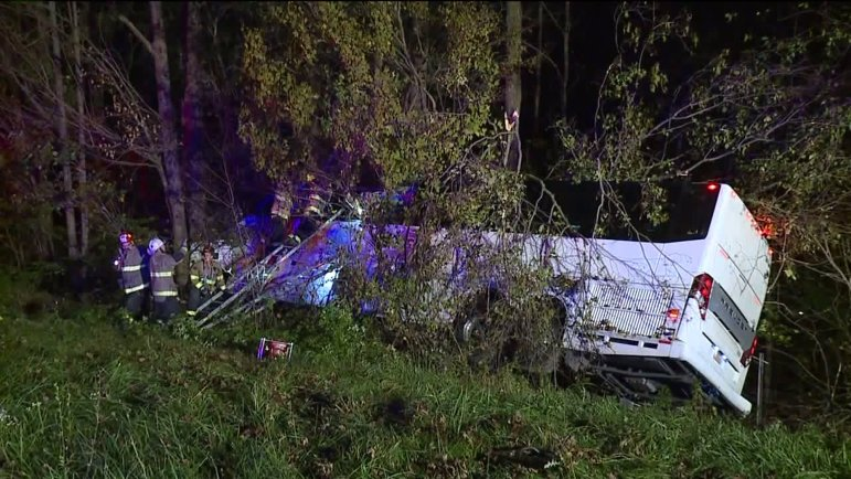 A federal regulator is reviewing Big Red Bullet's compliance with regulations after its bus crashed into a wooded area off of a Pennsylvania highway on Sunday night, killing a Cornell alumna.