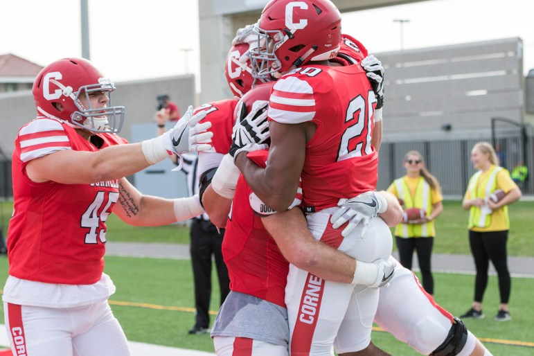 Cornell ran all over the Bears when the teams met in Ithaca last season.