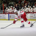 Senior alternate captain Alec McCrea is among the returning Cornell blueliners