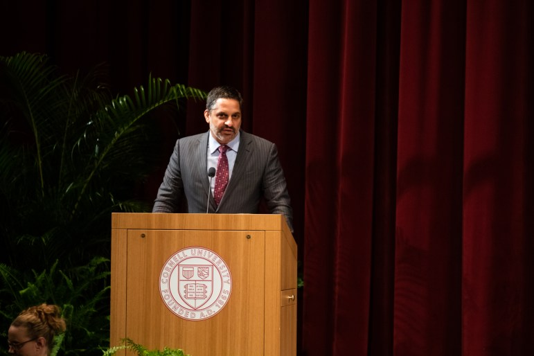 """Cornell Law School Dean Eduardo Peñalver '94 The dean said Justice Sonia Sotomayor's """"distinctive voice"""" on the court shows that, """"as a Latina, she brings an important perspective to the federal judiciary."""""""