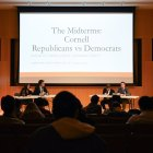 At a debate on Monday, Cornell Republicans and Democrats both tried to convince the audience to vote for their parties in the midterms.