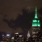 For the 10th Annual Climate Week in New York City, the Empire State Building was lit green. Cornell-affiliated organizations hosted 3 separate events during the week.